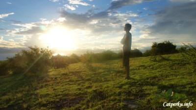 Sunrise terbaik yang pernah saya lihat, hanya di Tanjung Ringgit Lombok