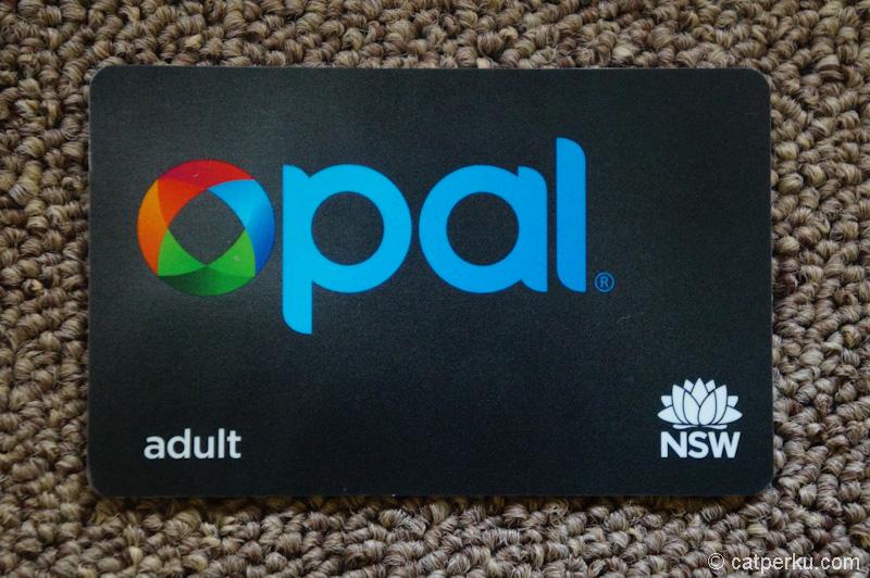 Opal Card, kartu sakti untuk naik transportasi umum di Sydney