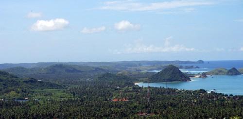 Pantai Di Lombok Dalam Panorama