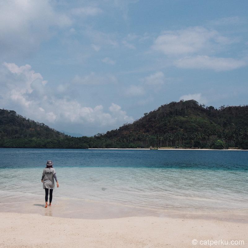 Pantai Pulau Kelagian yang sangat Instagramable