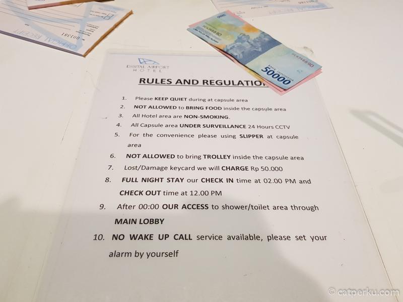 Peraturan hotel kapsul terbaru bandara untuk para tamunya