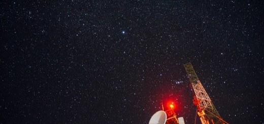 Pesawat ruang angkasa? bukan ini langit di atas Pananjakan viewpoint kok!