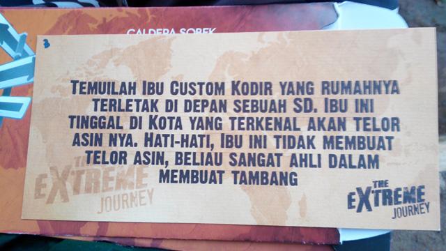 Petunjuk yang akan mengantarkan ke desa wisata tambang Kubangwungu