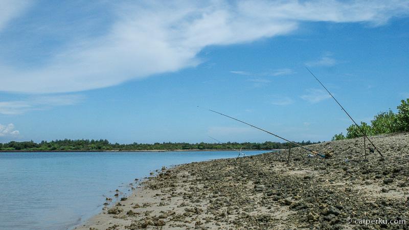 Pulau Serangan ini favorit para pemancing