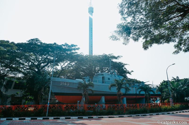 Royal Malaysian Navy Museum di Melaka.