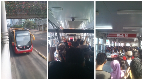 Meskipun sering ramai sekali, TransJakarta ini transportasi termurah di Jakarta. Cukup merogoh kocek Rp. 3500 saja, saya bisa ke banyak tempat di ibukota, asal masih masuk ke dalam jalur koridor TransJakarta, Kamu tinggal pelajari saja peta rute Transjakarta lengkap semua koridor biar gak nyasar!