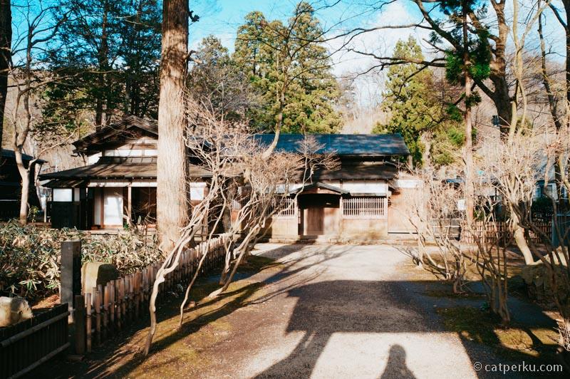 Rumah salah seorang Samurai didesa ini, masih terawat meski umurnya sudah ratusan tahun.