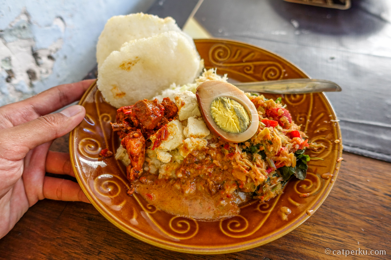 Sarapan Nasi Cawuk, Kuliner Banyuwangi yang cocok untuk sarapan pagi!