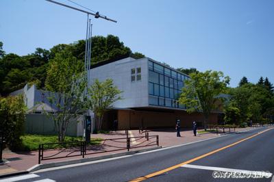 Fujiko F Fujio Museum tampak dari luar.