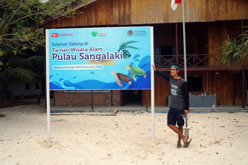 Selamat datang di Taman Wisata Alam Pulau Sangalaki!