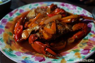 Seporsi besar Kepiting laut favorit saya!