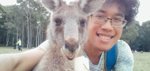 Setelah banyak percobaan, dapet satu foto selfie yang menurut saya keren!