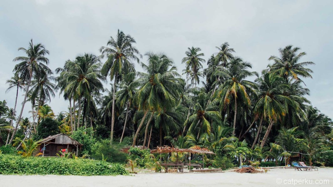 Siapapun pasti terpesona dengan Pulau Tailana, iya kan?