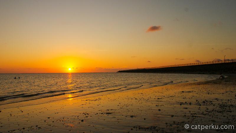 Pemandangan Sunset Di Bali terbaik No 1,Pantai Kelan!