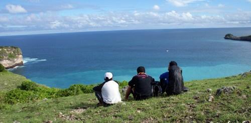 Memandang Samudera Hindia dari Tanjung Ringgit