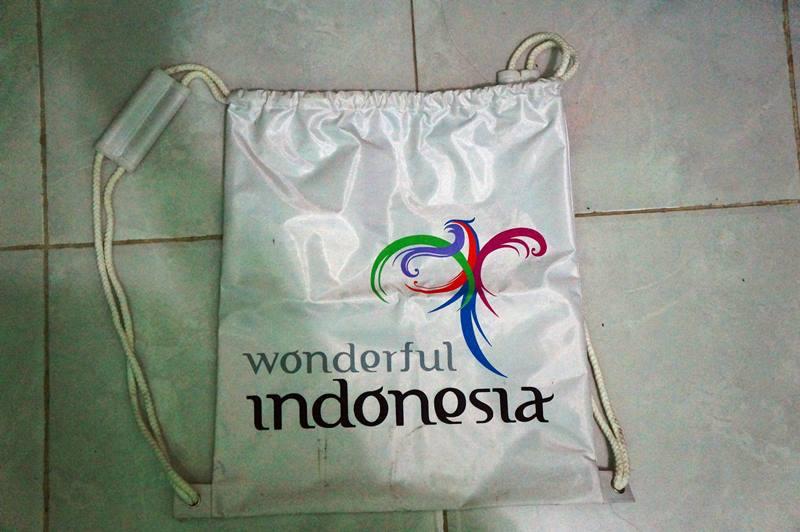 Tas daypack wonderful indonesia.