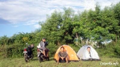 Spot Untuk mendirikan tenda di Tanjung Ringgit
