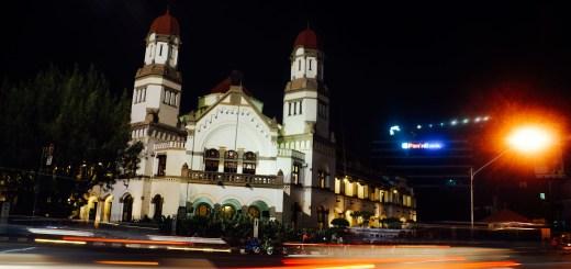 Tempat wisata di Semarang ini berada di dekat jalur tersibuk di semarang