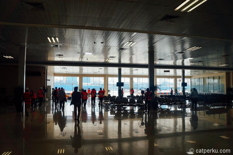 Terminal penumpang di Pelabuhan Tanjung Priok