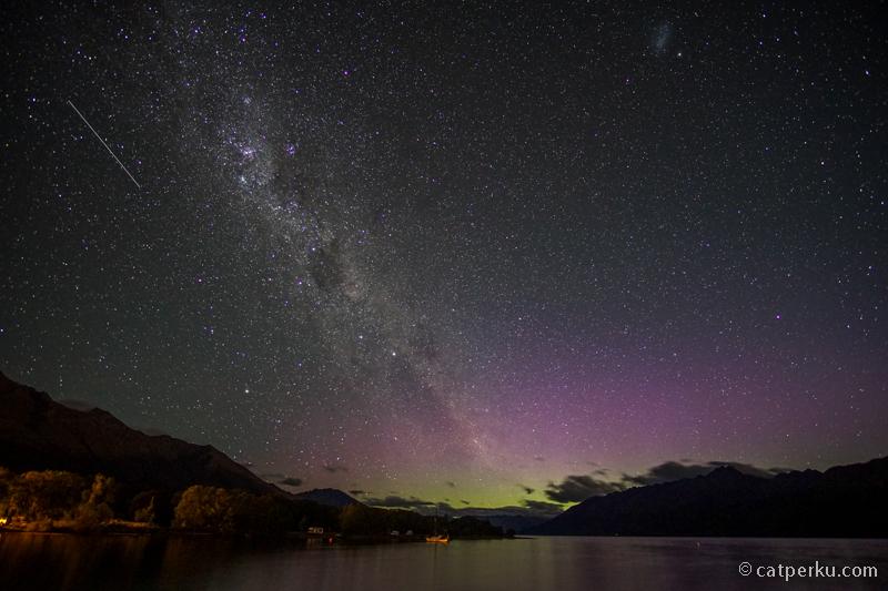 Ternyata memang benar ini Aurora Australis atau Southern Lights!