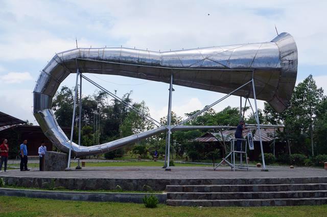 Terompet terbesardi dunia ada di Tompasso.