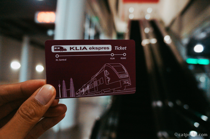 Tiket KLIA Transit Atau KLIA Express Seperti ini
