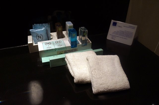 Toiletries di Novotel Semarang.
