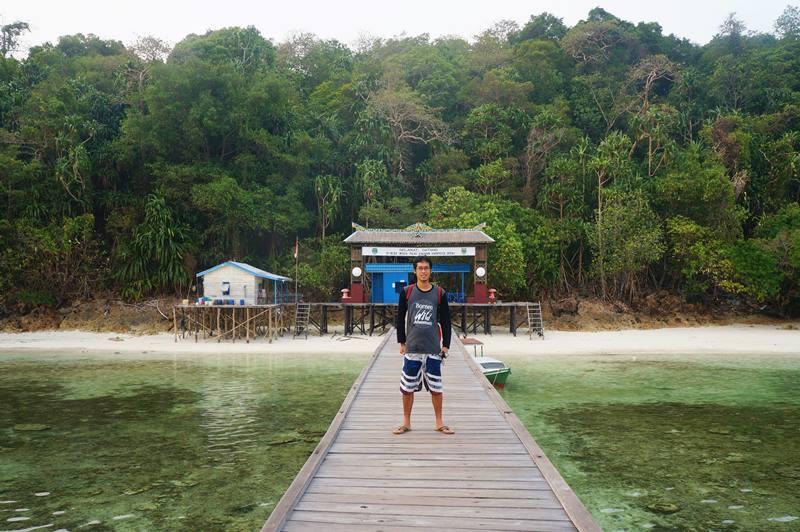 Touchdown, Pulau Kakaban!