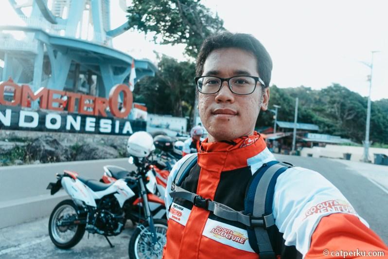 Touring Pertamina Enduro Go Out And Adventure dimulai dari Nol Kimometer Indonesia di Sabang, Aceh!