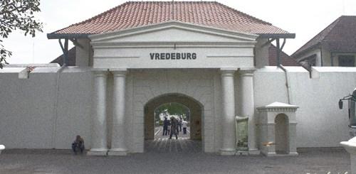 Bagian depan Benteng Vredeburg