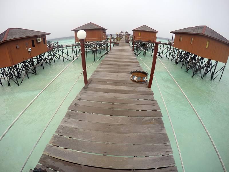 Water Villa di Maratua Paradise Resort