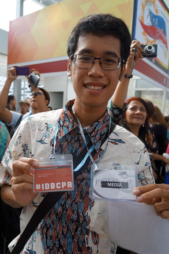 Diundang ke event traveling besar di Filipina pertama kali sebagai media.