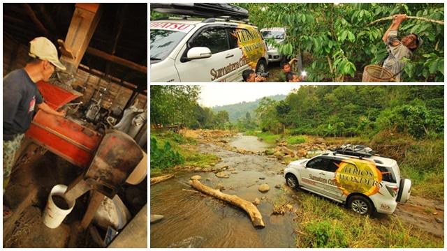Menyatu dengan alam di  Kabupaten Empat Lawang.