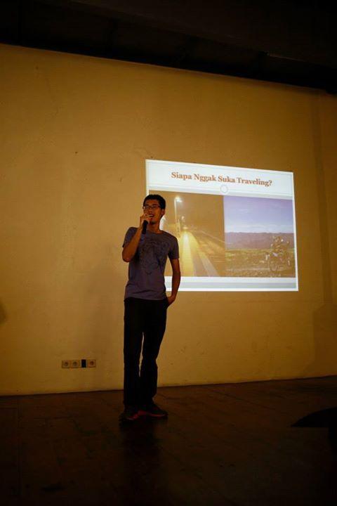 Speaker at Pecha Kucha