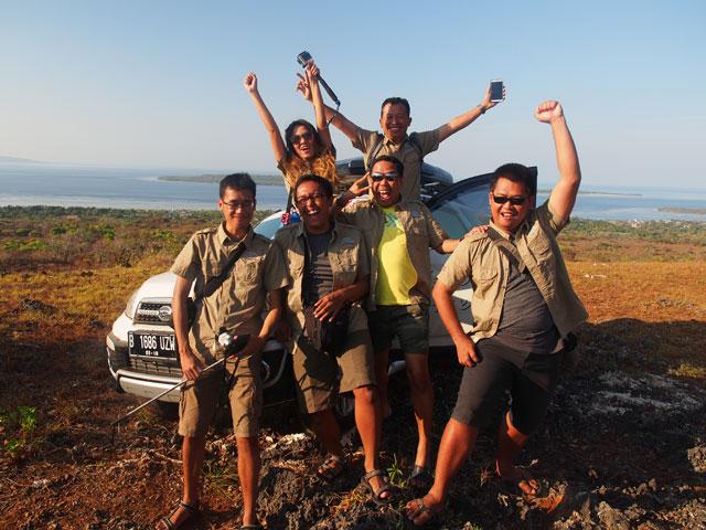 Setelah sebelumnya bertualang di Sulawesi selama 13 hari!
