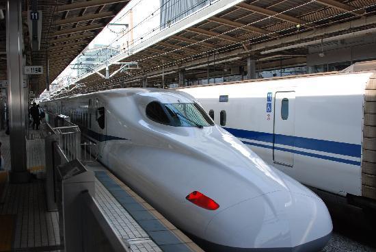 Shinkansen Hikari yang melayani jalur Tokaido, dengan rute Tokyo - Shin-Osaka