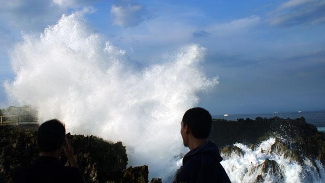Tahu enggak kalau ada yang namanya Waterblow di Nusa Dua?