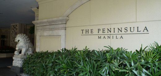 The Peninsula Manila Hotel!