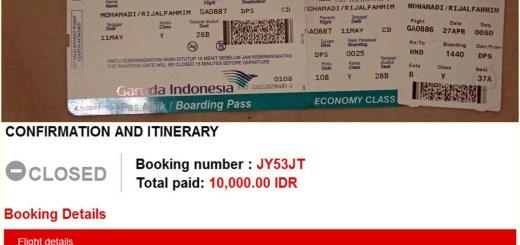 Tips Mencari Tiket Murah Ala Catperku (Tiket Promo)