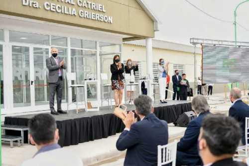hospital catriel inauguracion - Catriel25Noticias.com