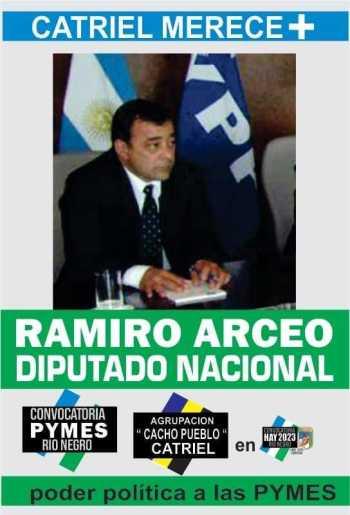arceo ramiro candidato - Catriel25Noticias.com