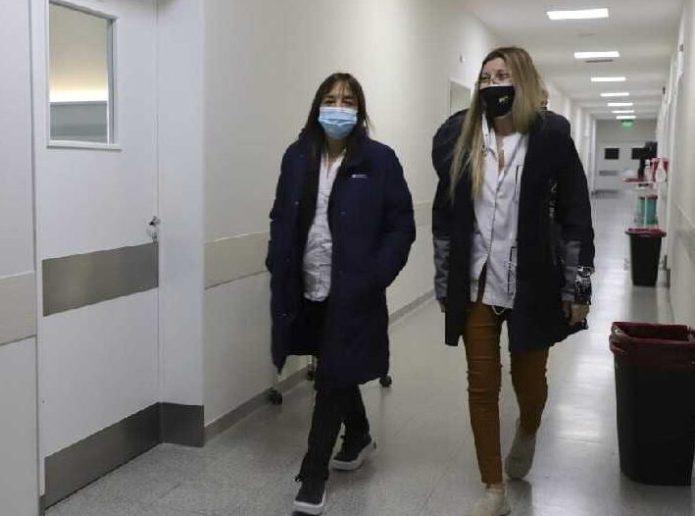 Iberó en Catriel: Admiro el trabajo que hacen el los hospitales para afrontar la pandemia