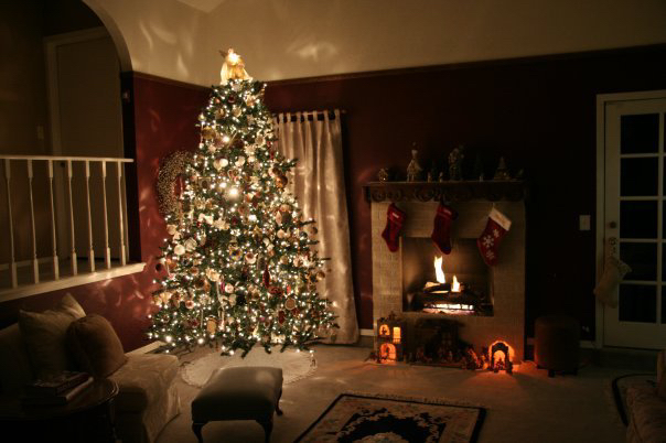 Christmas living room ©CatrinaAtHome