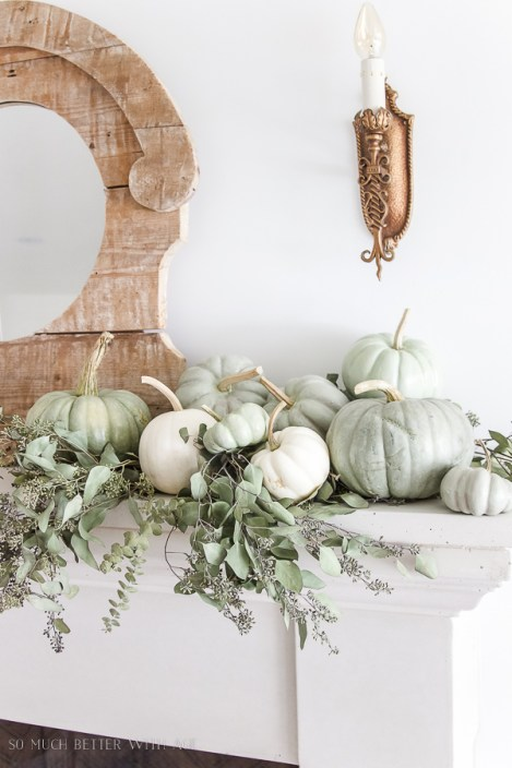 painted-heirloom-pumpkins-on-fireplace-mantel-104
