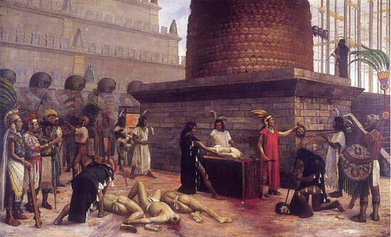 Los investigadores del INAH informan que tanto la torre como el estante eran parte de rituales de sacrificio humano, llevados a cabo para preservar el estilo de vida azteca.