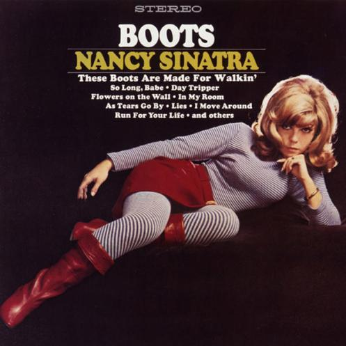 Resultado de imagen de the boots are made for walking letra