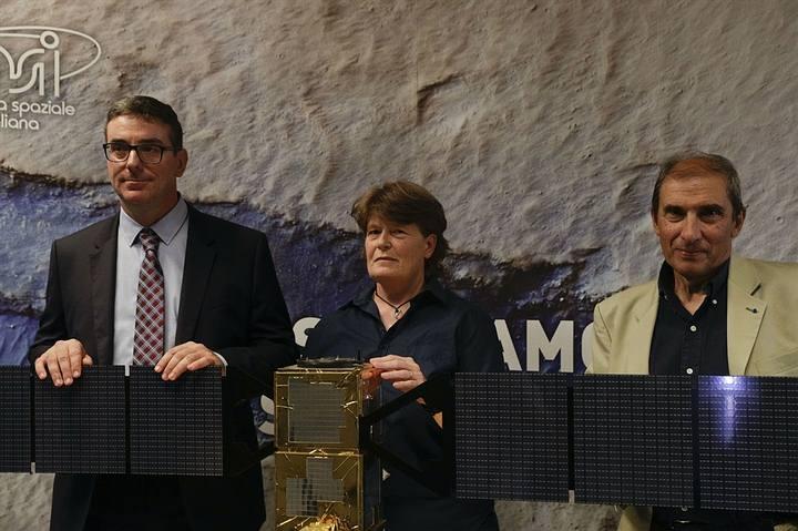 Científicos italianos que hicieron el descubrimiento.