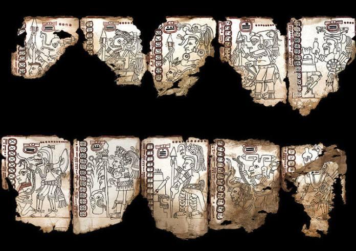 Códice Maya de México. Foto: Martirene Alcántara, INAH.