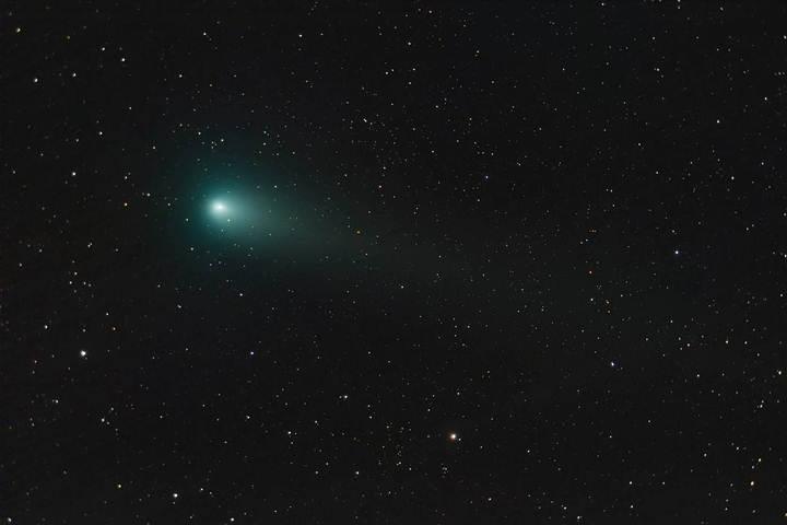 El astrofotógrafo Alexander Vasenin tomo esta foto del cometa desde el óblast de Moscú, Rusia, el pasado 18 de agosto.