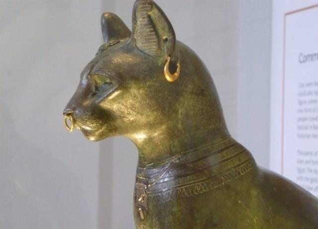 Bubastis fue el principal centro de culto a la diosa felina Bastet o Bast.
